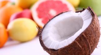 Как вскрывать кокос